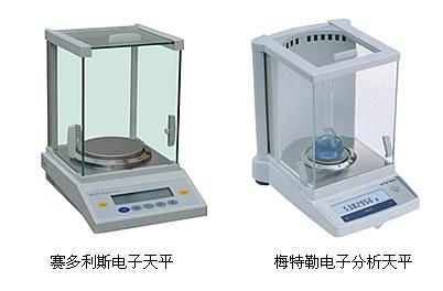 产品名称:电子分析天平 产品型号: 产品规格: